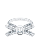 Ted Baker Silver Sparkle Bow Ring
