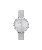 Olivia Burton Grey Bubble Watch