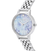 Olivia Burton Silver Under The Sea Glitter Watch
