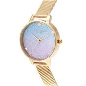 Olivia Burton Glitter Rose Mermaid Watch