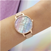 Olivia Burton Under The Sea Rainbow Rose Watch