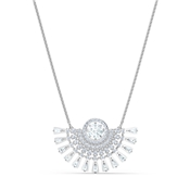 Swarovski Sparkling Dance Medium Silver Necklace