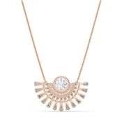 Swarovski Sparkling Dance Medium Rose Gold Necklace