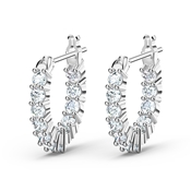 Swarovski Vittore Silver Mini Hoop Earrings