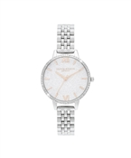 Olivia Burton Silver Sparkle Watch