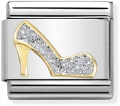 Nomination High Heel Glitter Charm