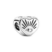 All-seeing Eye & Heart Charm by Pandora