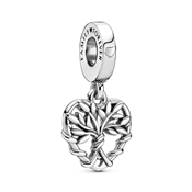 Pandora Family Tree Heart Drop Charm