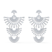 Swarovski Sparkling Dance Statement Earrings