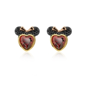 Red Crystal Minnie Mouse Earrings by Kate Spade New York