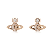 Vivienne Westwood Rose Gold Dorina Earrings