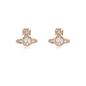 Vivienne Westwood Rose Gold London Earrings