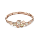 August Woods Rose Gold Abalone Opal Bracelet