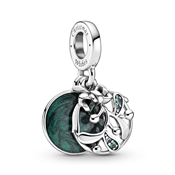 Pandora Christmas Mistletoe Drop Charm