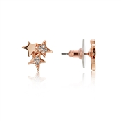 August Woods Rose Gold Crystal Star Earrings