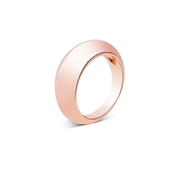 August Woods Rose Gold Chunky Pebble Ring Size 54
