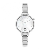 Nomination Silver Paris Mother Of Pearl Crystal Watch