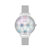 Olivia Burton Silver Ice Queen Watch