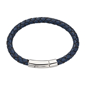 Little Star Andre Boys Blue Leather Bracelet