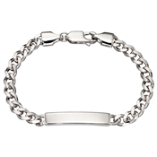 Little Star Bailey Boys Curb ID Bracelet