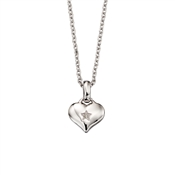 Little Star Bella Diamond Heart Necklace