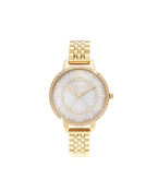 Olivia Burton Wonderland Sunray Gold Bracelet Watch