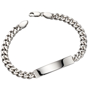 Little Star Cameron Mens ID Bracelet