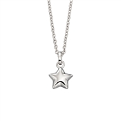 Eva Plain Star Necklace  by Little Star