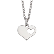 Little Star Adults Hanneli Open Heart Necklace