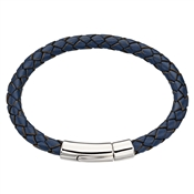 Little Star Hugo Boys Navy leather Bracelet