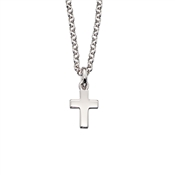 Little Star Kaia Plain Cross Necklace