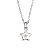Little Star Kirsty Diamond Star Necklace