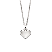Little Star Mia Plain Heart Necklace