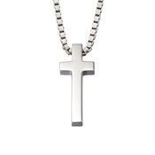 Little Star North Mens Cross Necklace