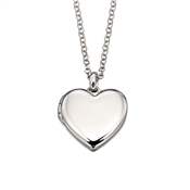 Little Star Olivia Heart Locket Necklace