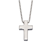 Little Star Thom Boys Cross Necklace