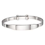 Little Star Willow ID Baby Bangle