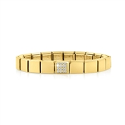 Nomination GLAM Gold Crystal Bracelet