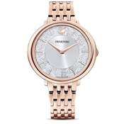 Swarovski Crystalline Rose Gold Chic Watch
