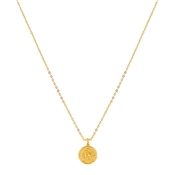 Argento Gold Sagittarius Horoscope Necklace