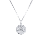 Argento Silver Cancer Horoscope Necklace