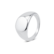 Argento Silver Engraving Signet Ring