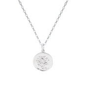 Argento Silver Scorpio Horoscope Necklace