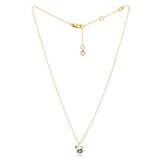 Kate Spade New York Gold Crystal Crab Necklace