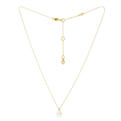 Kate Spade New York Gold Pearl Trio Prong Necklace