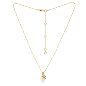 Kate Spade New York Gold Starfish Pearl Necklace