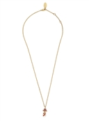 Vivienne Westwood Gold Snowman Necklace