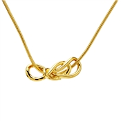 Kate Spade New York Gold Knot Twist Necklace