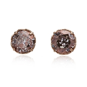 Kate Spade New York Rose Sparkle Round Earrings