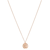 Argento You Deserve The World Gold Necklace